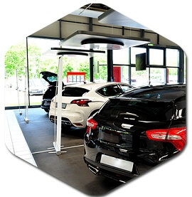 Car dealerships cleaning