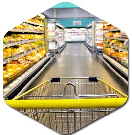 Grocery store cleaning services